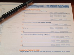 The Emergent Task Planner