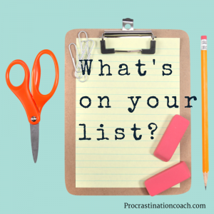 What's on your list- (1)