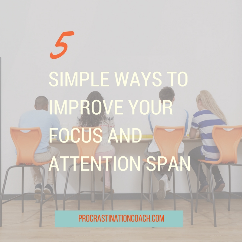 Get more work done by simplifying your approach and boosting your focus in the process.