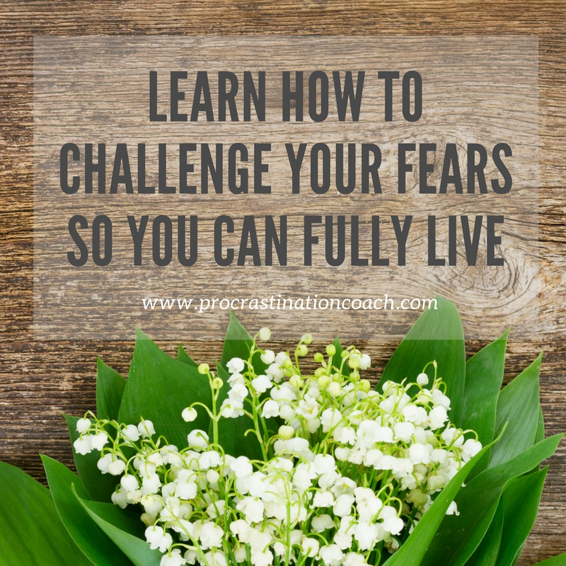 Challenge your fears so you can live to your potential