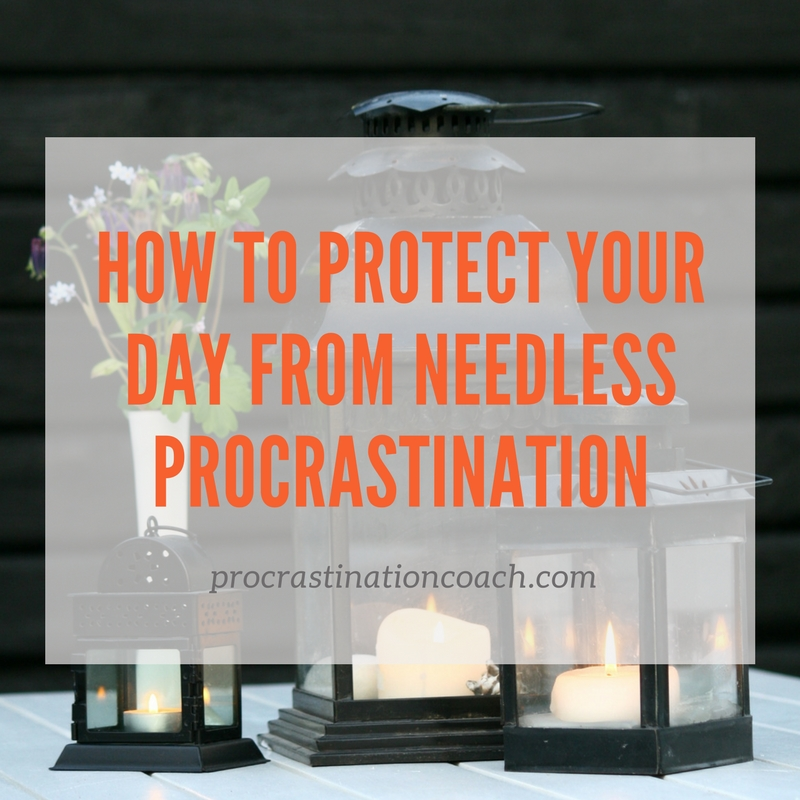 Tips to avoid needless procrastination in your daily life